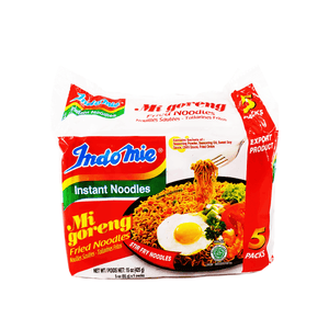 Indomie Mi Goreng Fried Noodles Family pack 15oz