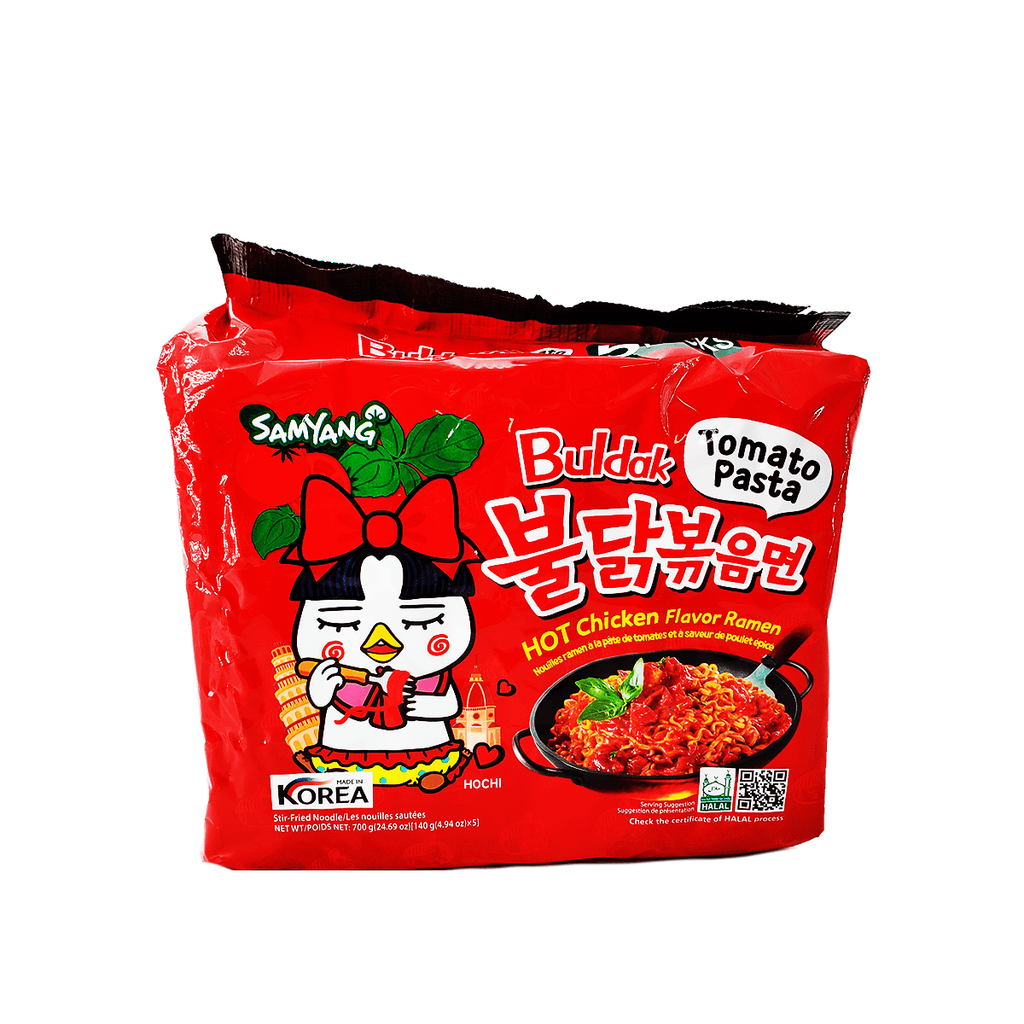 Samyang Buldak Topmato Pasta Hot Chicken Family pack 24.69