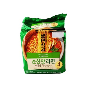 Pulmuone Air Dried Mild Ramen Family pack 13.6oz