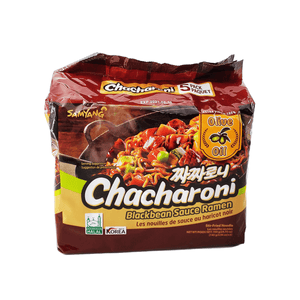 Samyang Chacharoni Black bean Sauce Ramen Family pack 24.70oz