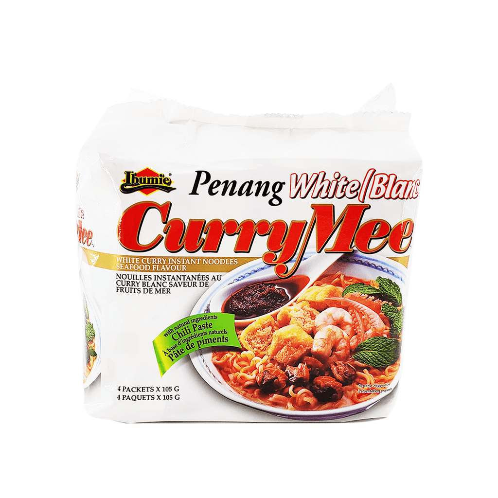 Ibumie Penang White / Blanc Curry Mee Family pack