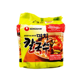 Nongshim Anchovy Kal Guk Soo 1 Case (8 family packs) 8.64Lbs