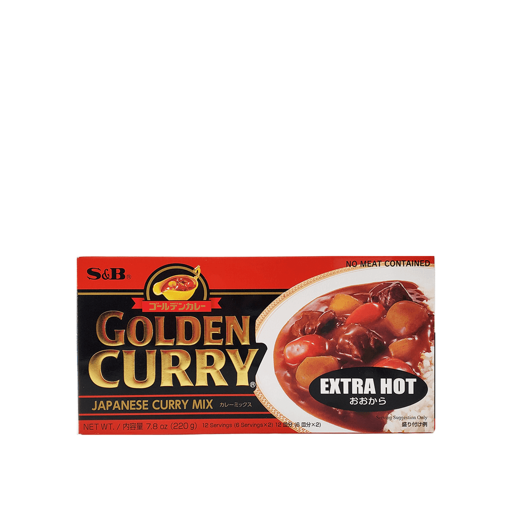 S&B Golden Curry Extra Hot 7.8oz