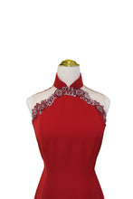 Load image into Gallery viewer, Emma Halter Neck Cheongsam