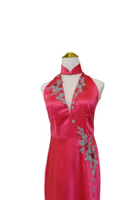Load image into Gallery viewer, Bette V-Neck Cheongsam