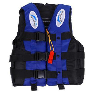 Adult Kayka Life Fishing Vest S-XXL Ski With Whistle