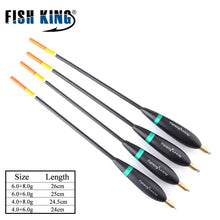 Load image into Gallery viewer, FISH KING 4Pcs/Pack Mix Size Fishing Float