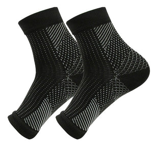 1 Pair Foot Anti Fatigue Compression Support Brace Socks
