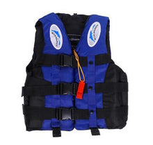 Load image into Gallery viewer, Adult Kayka Life Fishing Vest S-XXL Ski With Whistle