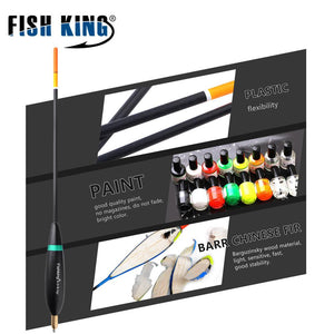 FISH KING 4Pcs/Pack Mix Size Fishing Float