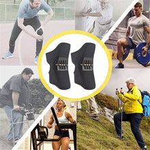 將圖片載入圖庫檢視器 Upgraded version knee joint support pads Breathable Non-slip power knee stabilizer pads
