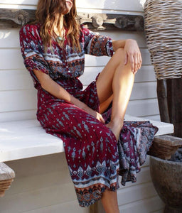 Women Long Maxi Dresses Bohemia Dress