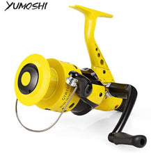Load image into Gallery viewer, YUMOSHI 12BB 5.5:1 Lightweight Plastic Spinning Fishing Reel
