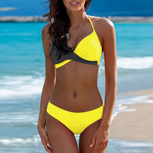 Women's Padded Push-up Bra Bikini Set Swimsuit