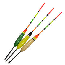 Load image into Gallery viewer, FISH KING 3PCS/Lot 4G 5G 6G Fishing Float Bobber Boia Buoy Drift Tube 3 Color