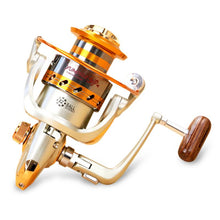 Load image into Gallery viewer, Yumoshi EF1000-7000 12BB 5.2:1 Metal Spinning Fishing Reels Fly Wheel For Fresh/ Salt Water
