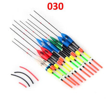 Load image into Gallery viewer, FISH KING 10PCS/lot Fishing Float Set Flutuador Mix Size Color