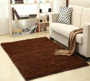 Super Soft Silk Indoor Wool Rug