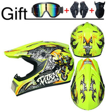 "Load image into Gallery viewer, Professional Motorcycle Helmet Off-road Racing Motocross ""3 Free Gifts Suitable For Kid"" - EL Cheapos Stuff"