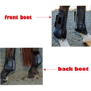 4PCS Adjustable Front and Hind Horse Leg Wear