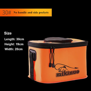 Portable EVA Collapsible Live Fish Box Camping Water Container