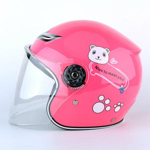 Kids Motorcycle Full Face Helmet For Multi Pattern Anti-Vibration Riding - EL Cheapos Stuff