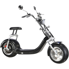 Load image into Gallery viewer, MotoTec Knockout 60v 2500w Lithium Electric Scooter Black