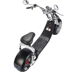 MotoTec Knockout 60v 2500w Lithium Electric Scooter Black