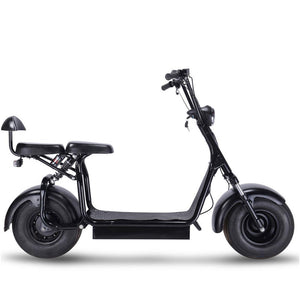 MotoTec Knockout 60v 1000w Electric Scooter Black