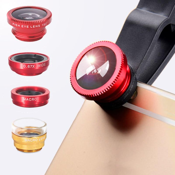Wide Angle Zoom Lenses For Smartphone - EL Cheapos Stuff