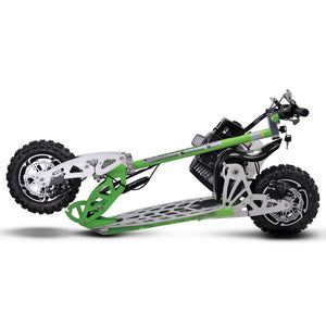 Uber Scoot 70x 2-Speed Gas Scooter Green
