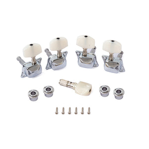 1Set Tooyful Professional 5Pcs Banjo Non-Slip Machine Head Tuning Tuner Peg/Key With 4 Bushing for Brand Guitar Lover Friend Kid Gift
