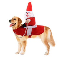 Load image into Gallery viewer, Santa Claus Riding Costume Designed For Dogs Cats