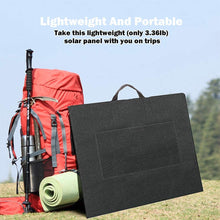 画像をギャラリービューアに読み込む, 50W 18V Portable Solar Panel, Flashfish Foldable Solar Charger