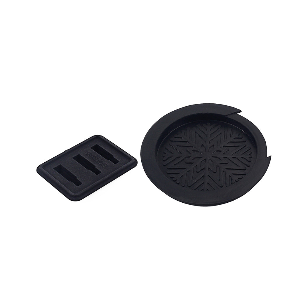 1 set Silicone Practice Silencer Guitar Mute Pad and soundhole cover For Folk Acoustic Guitar