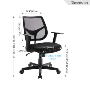 Ergonomic office Desk chair mesh computer chair - EL Cheapos Stuff