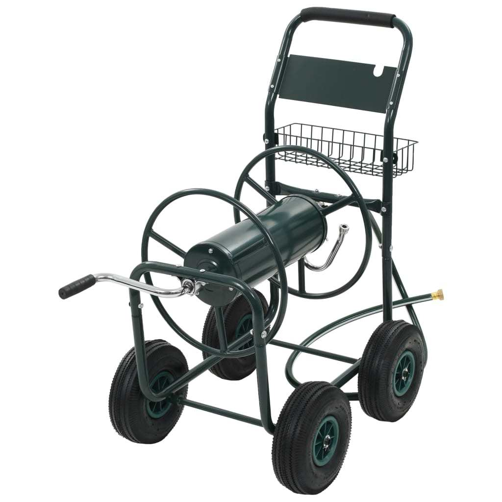 Garden Hose Trolley with 1/2
