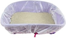 Load image into Gallery viewer, Cat Litter Box Liners large with Drawstrings Scratch Resistant Bags