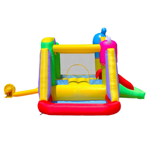 Monster Inflatable Bounce House for Kids with Blower Jump and Slide Bouncy Castle with Ball Pit for Party