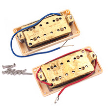 Load image into Gallery viewer, 1 Pair Metal Classic Metal Humbucker Electric Guitar Pickup for Rock Hip-pop