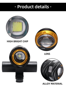 Rechargeable T6 LED MTB Bicycle Light 20000 LM XM-L