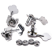 Load image into Gallery viewer, 1Set  Bass Guitar 4R Machine Heads Knobs Tuners Tuning Pegs