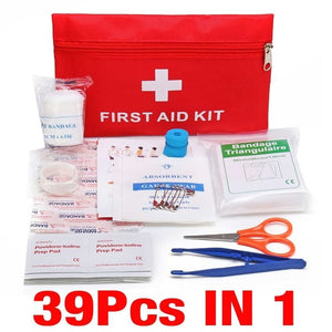 Portable Emergency Survival Set First Aid Kit for Outdoors,Camping and Hiking