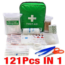 Load image into Gallery viewer, Portable Emergency Survival Set First Aid Kit for Outdoors,Camping and Hiking