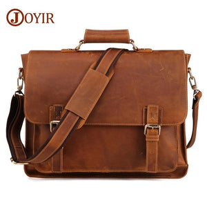 Vintage Men's Genuine Leather Briefcase/Travel Bag