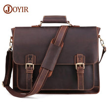 Load image into Gallery viewer, Vintage Men's Genuine Leather Briefcase/Travel Bag