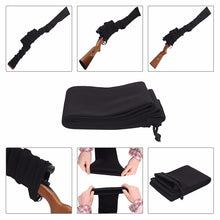 "Load image into Gallery viewer, Airsoft Rifle Gun Socks 54""/14"" Tactical Hunting Shooting Gun Pistol Protector Cover Holster Silicone Treated Fishing Rod Sleeve"