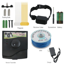 Load image into Gallery viewer, In-ground Electric dog Fence With Chargeable Electronic Training Collar
