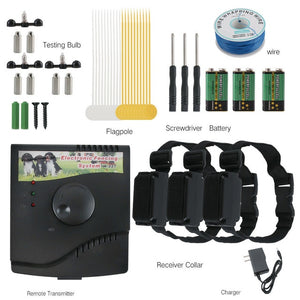 In-ground Electric dog Fence With Chargeable Electronic Training Collar