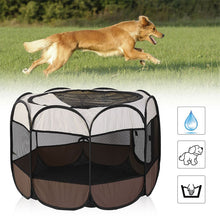 Load image into Gallery viewer, Portable Outdoor Kennels Fences Dog,Cat Etc
